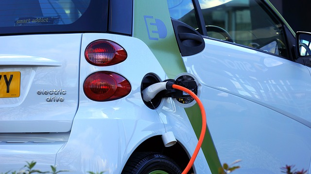 future charging solutions - car being charged